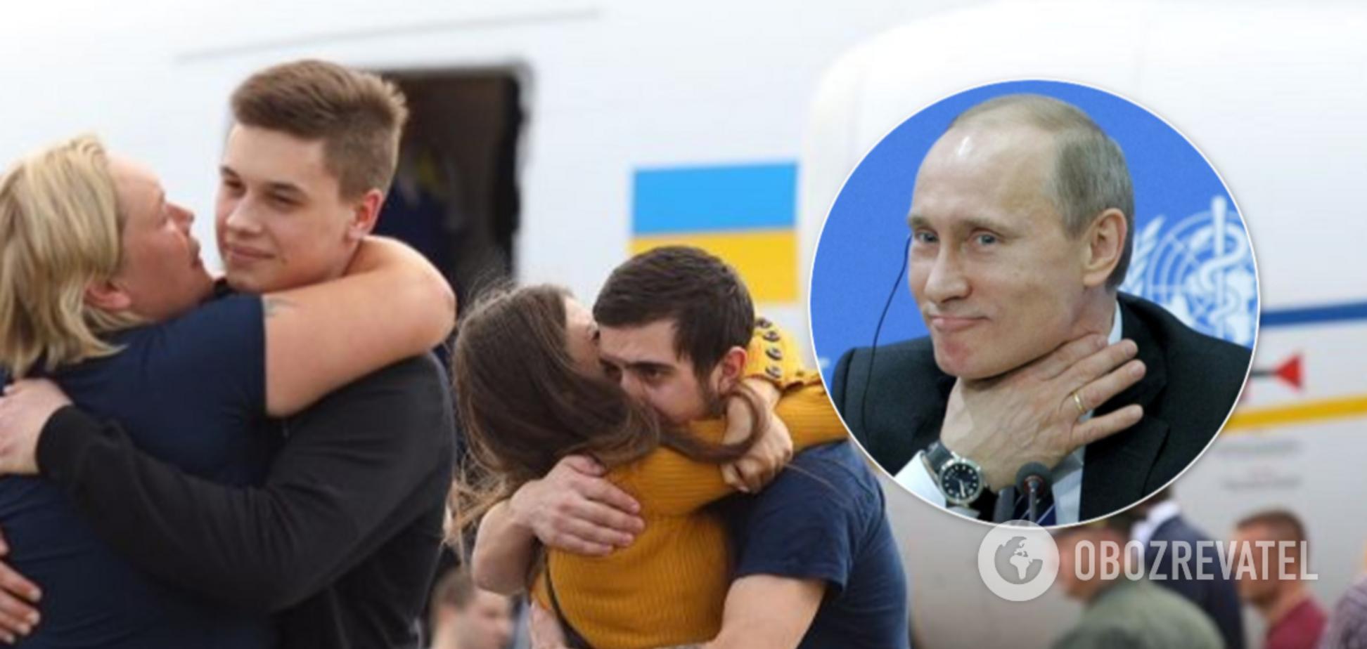 Россия запретила въезд освобожденным украинцам