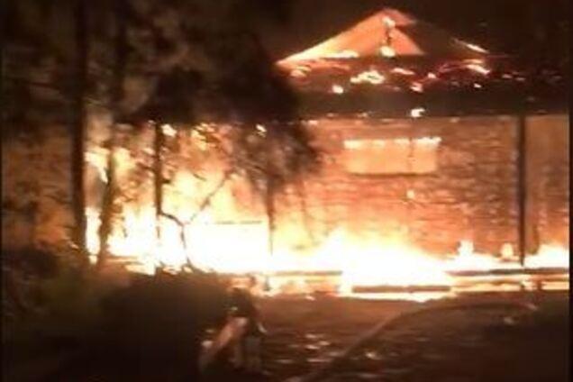 На місці згорілого будинку Гонтаревої знайшли ракети