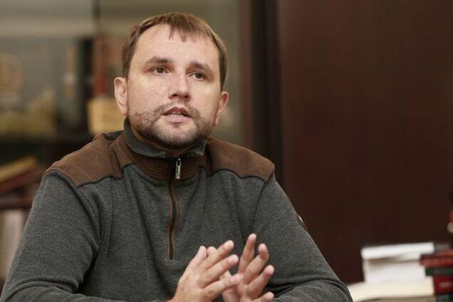 Володимира В'ятровича звільнено
