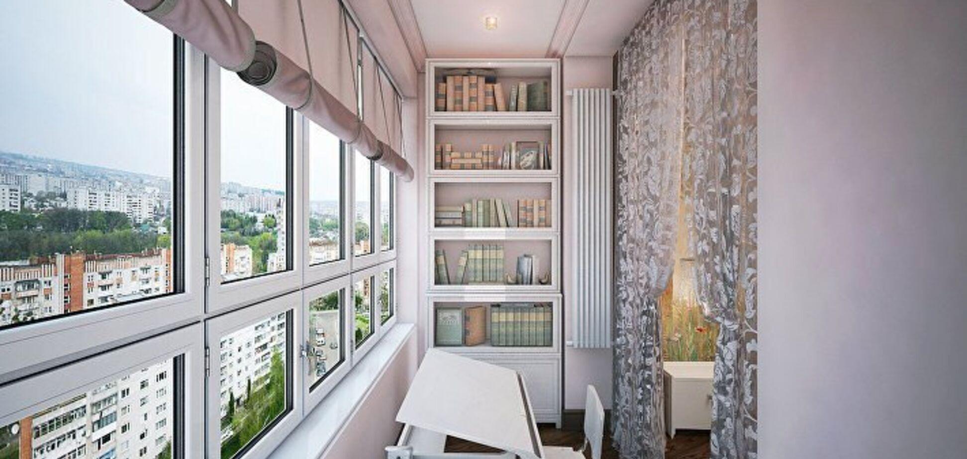 Расширение жилплощади: как это сделать за счет балкона