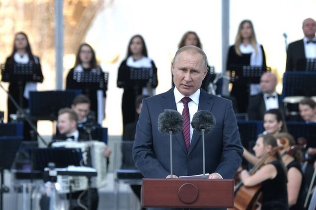 Володимир Путін на святкуванні Дня Москви
