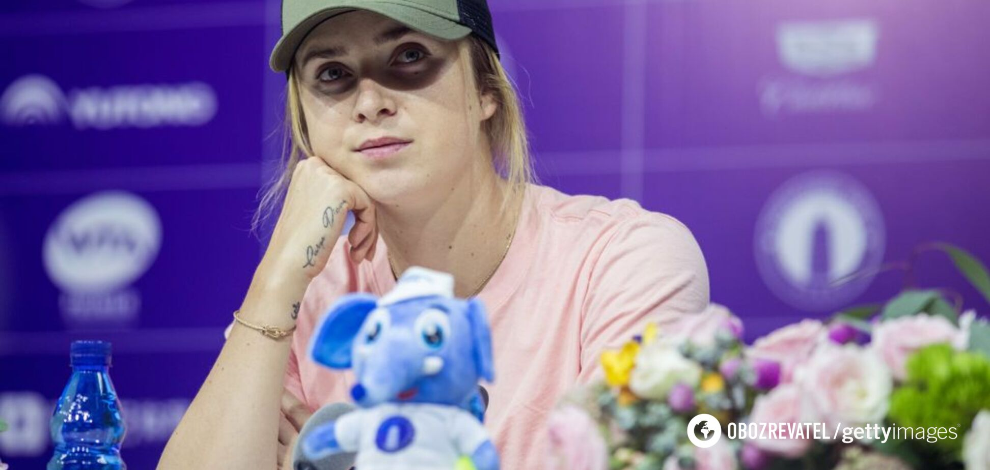Свитолина отказалась продолжать матч на престижном турнире в Китае