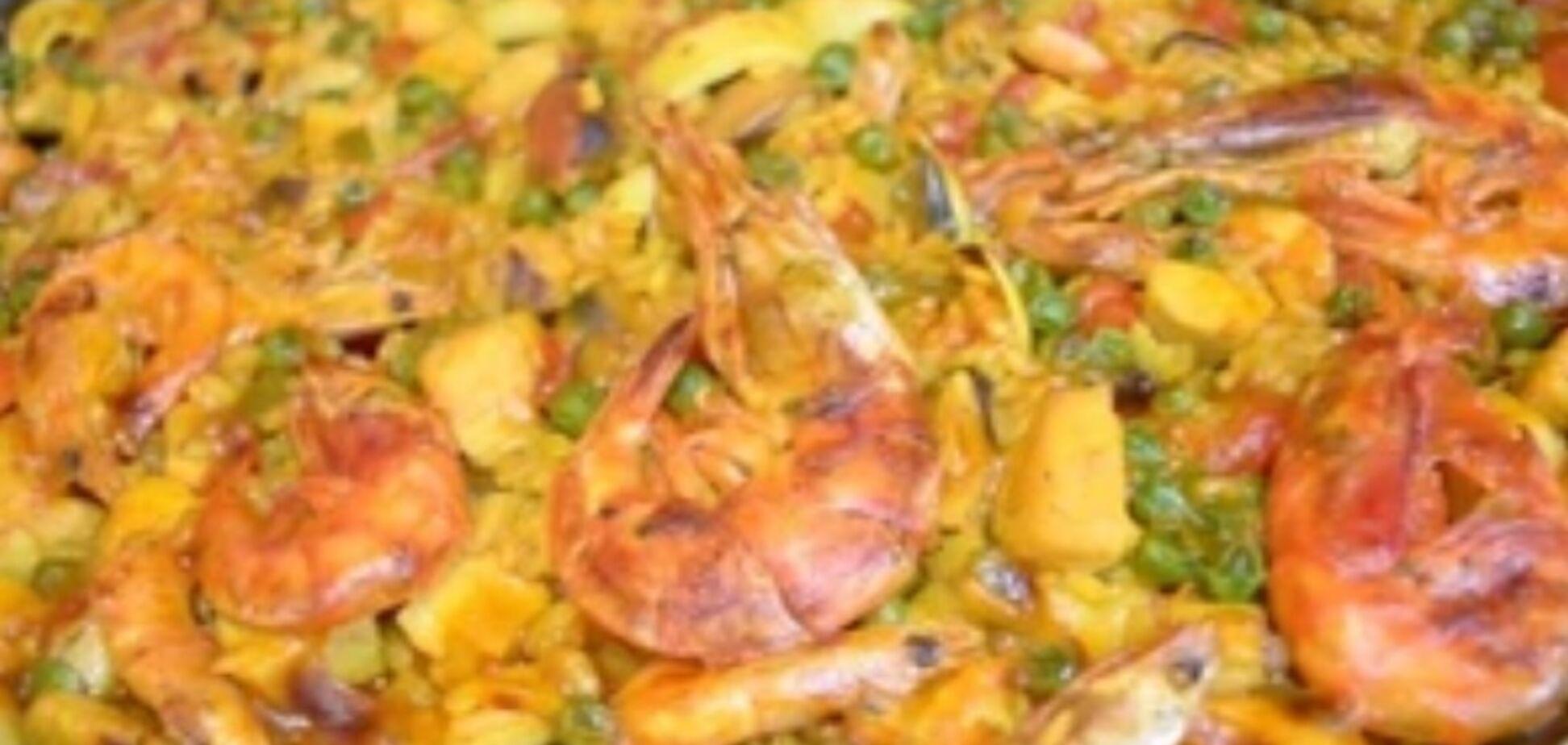 Рецепт самой вкусной паэльи