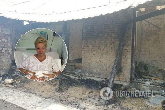 Підпал будинку Гонтаревої