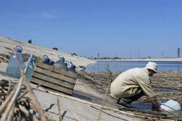 Проблеми з водою в Криму