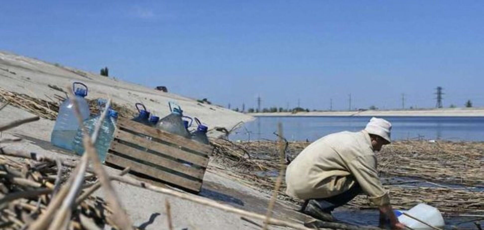 Вода за графіком: у засихаючому Криму трапилася нова НП