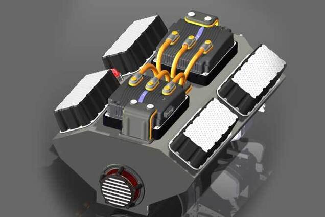 Прототип модульного електричного двигуна