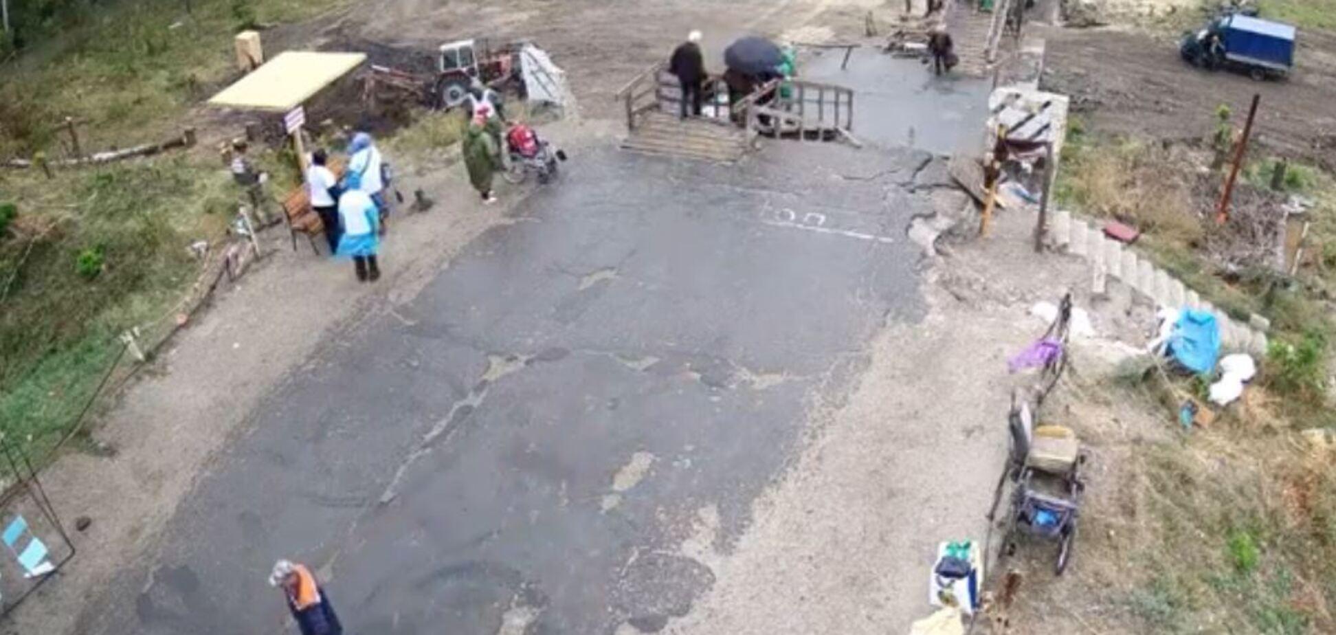 Ремонт моста у Станицы Луганской начали транслировать онлайн