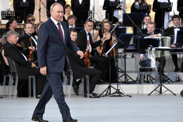 Владимир Путин на праздновании Дня Москвы