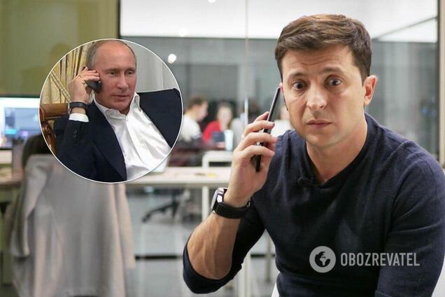 Переговоры Зеленского с Путиным