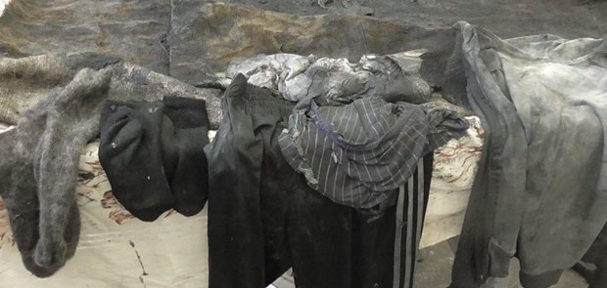 Одежда подростка, которого убили Крайновы