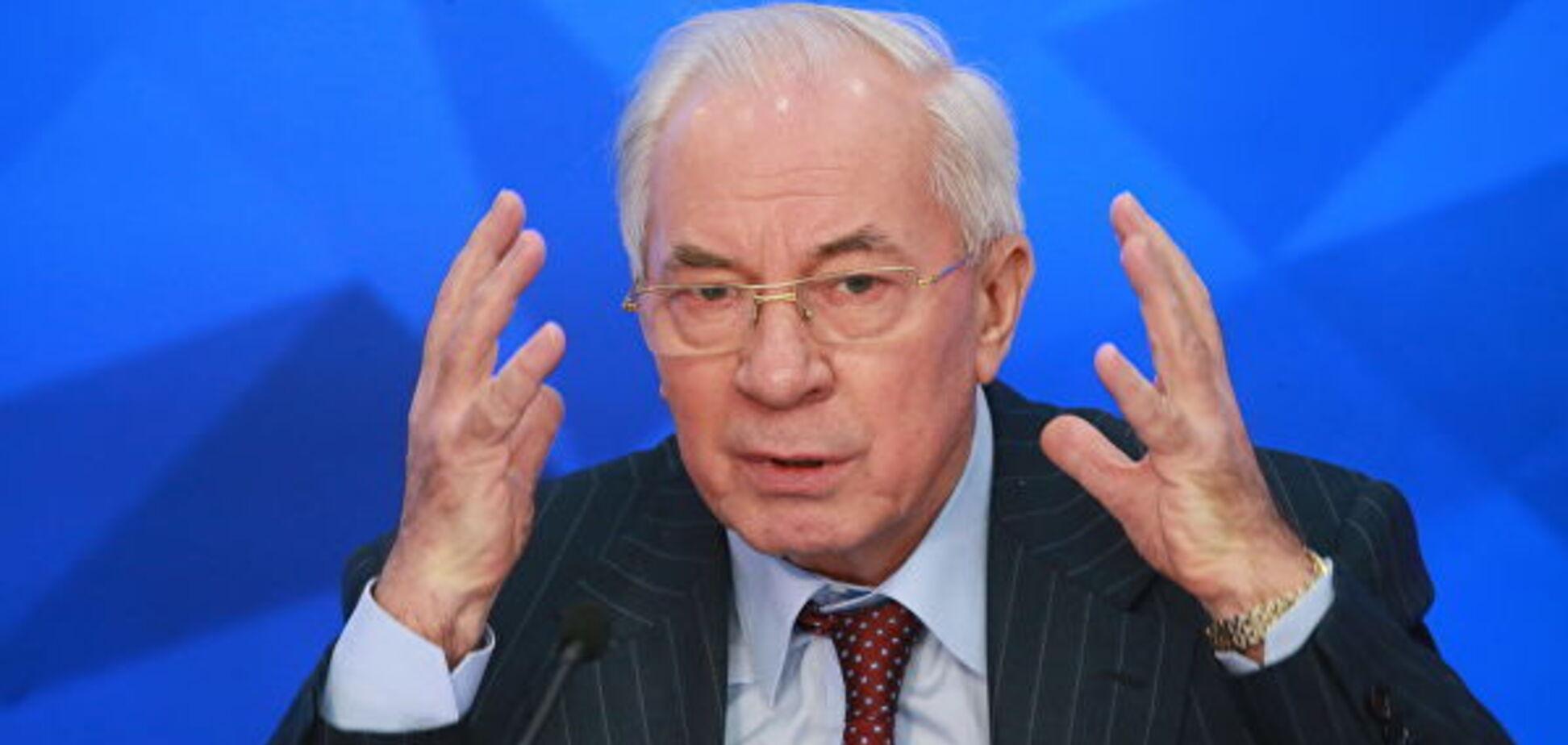Азаров замарив про фашизм в Україні