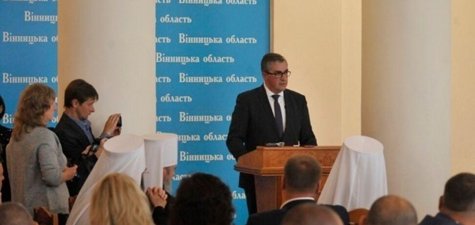 Представлення нового голови ОДА у Вінниці