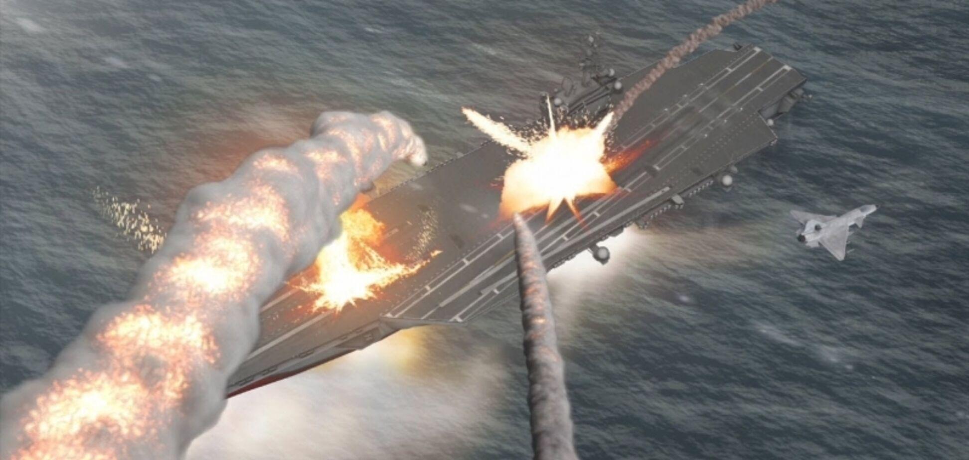 Снесет с поверхности океана: в России предложили 'уронить' ракету на фрегат США