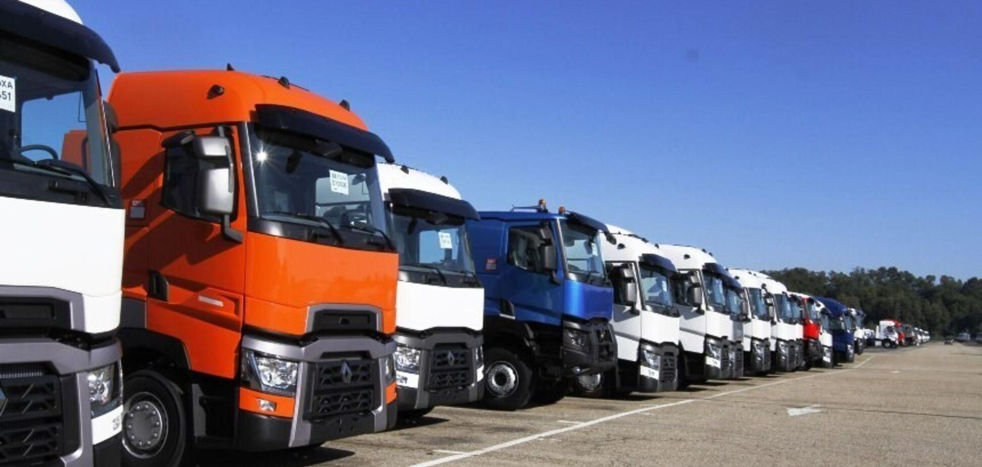КГГА запретила въезд грузовиков в Киев: названа причина