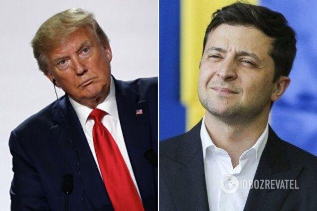 Дональд Трамп і Володимир Зеленський