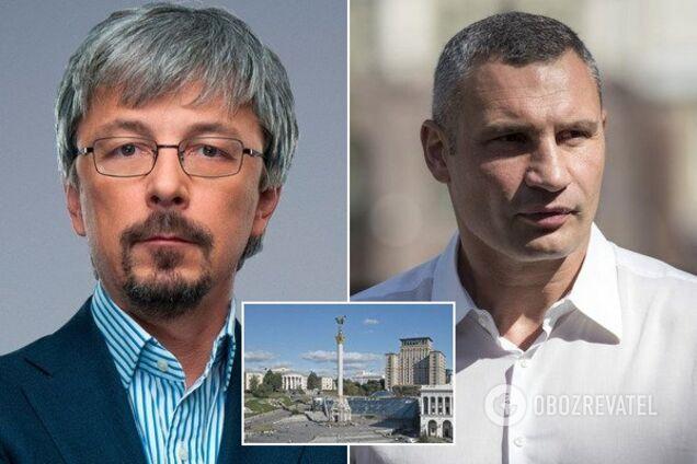 Александр Ткаченко и Виталий Кличко