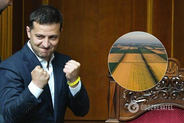 Зеленський назвав умову ринку землі в Україні