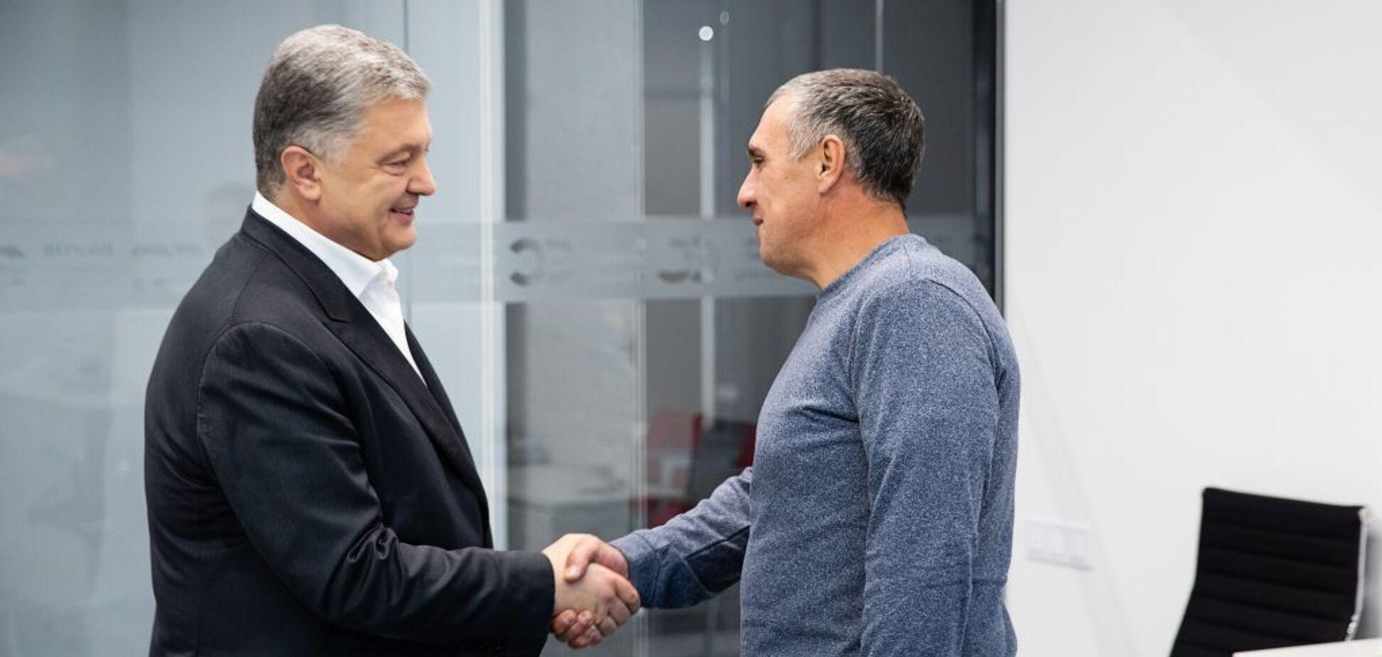 Петр Порошенко и Евгений Панов