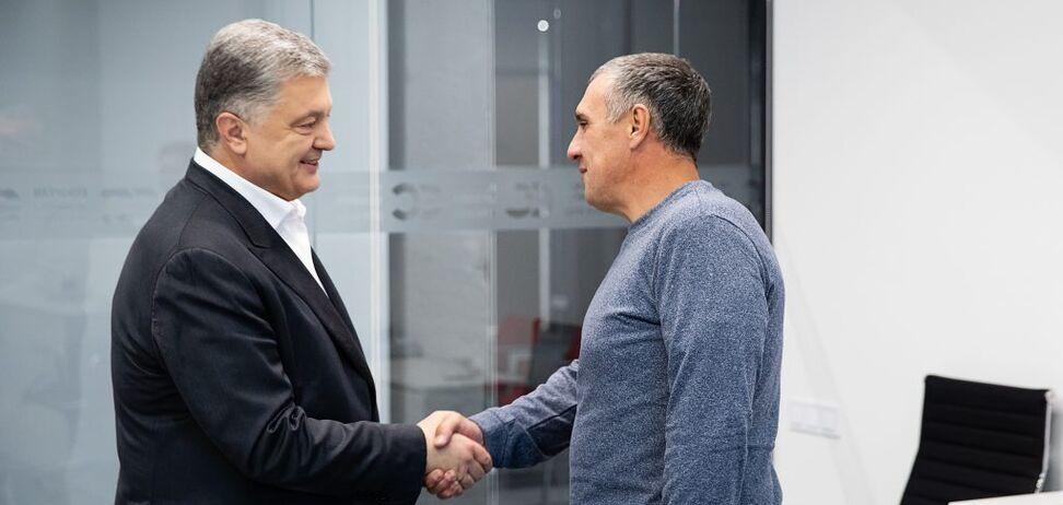 Петро Порошенко і Євген Панов