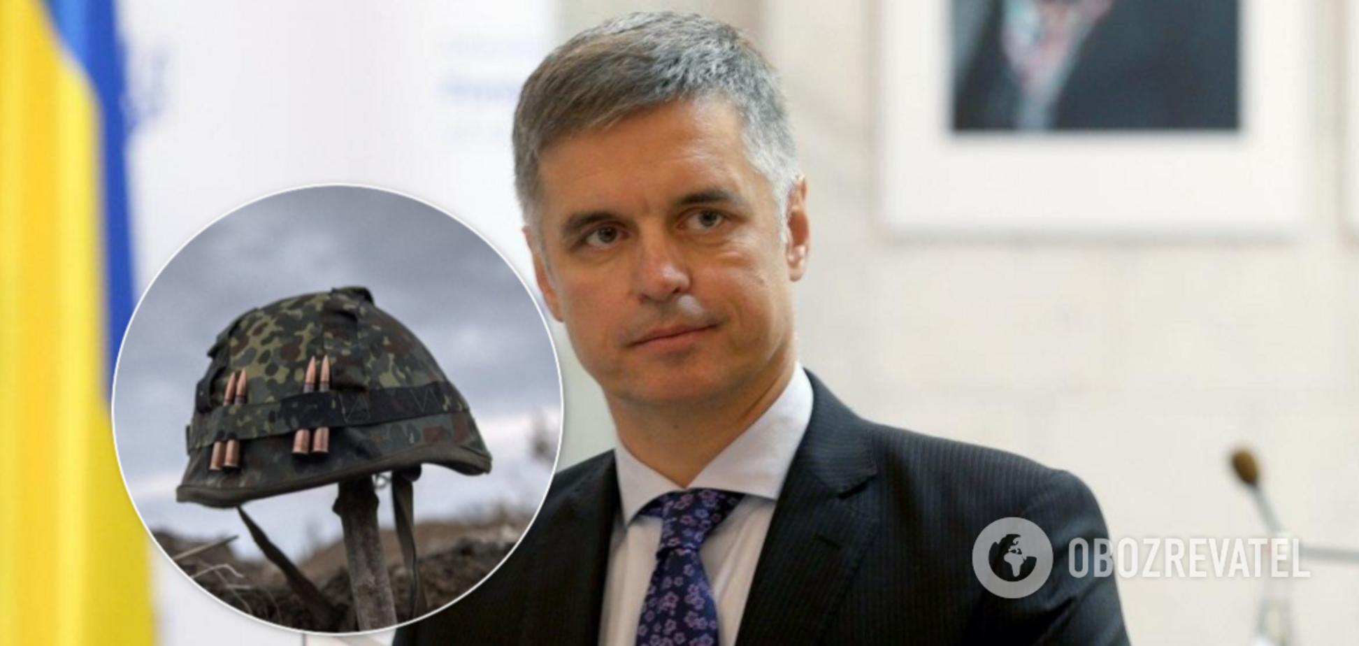 Пристайка викрили у брехні про втрати на Донбасі