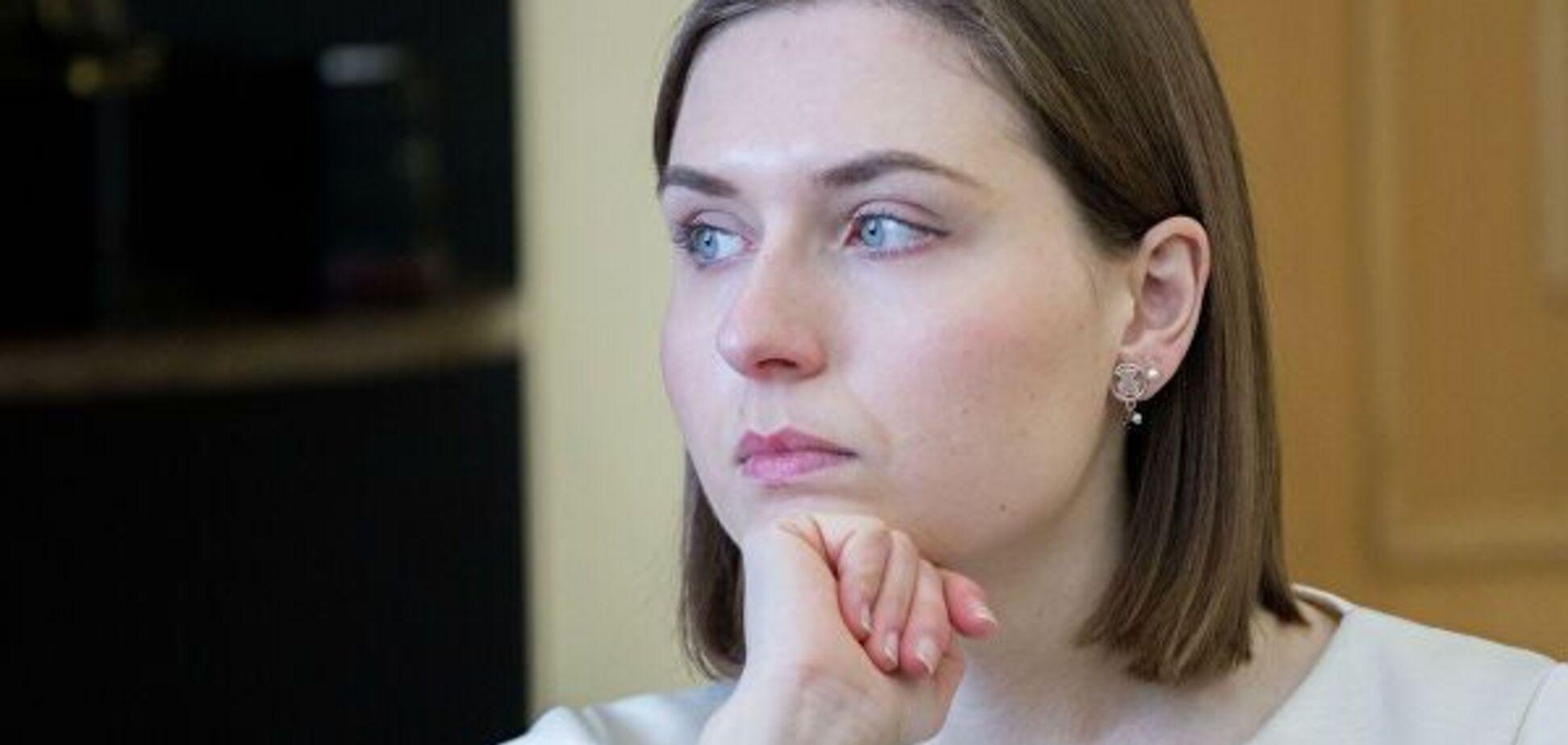 'Безграмотная' министр образования Украины впервые отреагировала на скандал