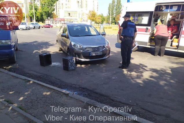 У Києві водійка жорстоко побила продавчиню
