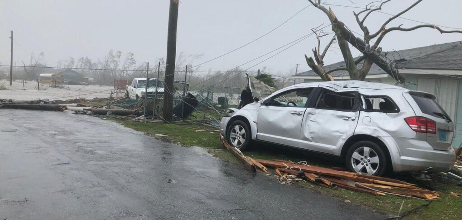 На США обрушился ураган 'Дориан'