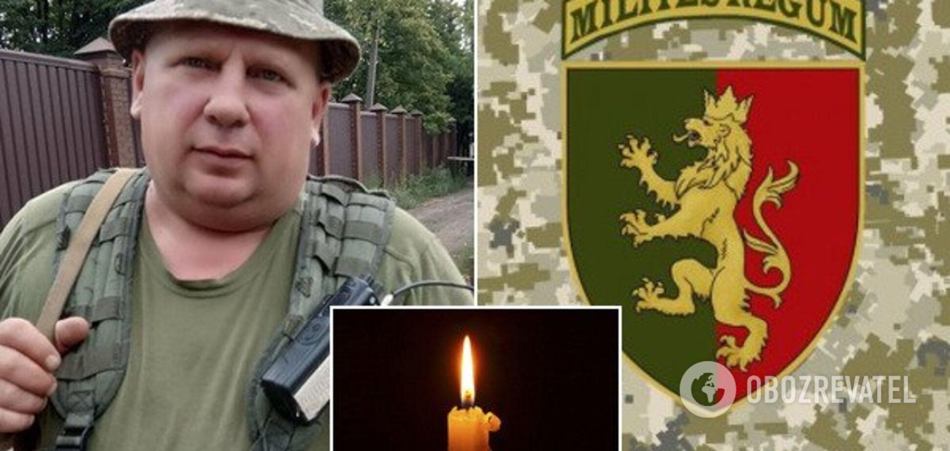 'Хотів і вмів воювати': у Дніпрі від поранень помер боєць ЗСУ