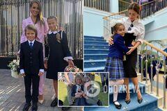 'В первый класс!' Кто из звезд повел детей в школу 1 сентября