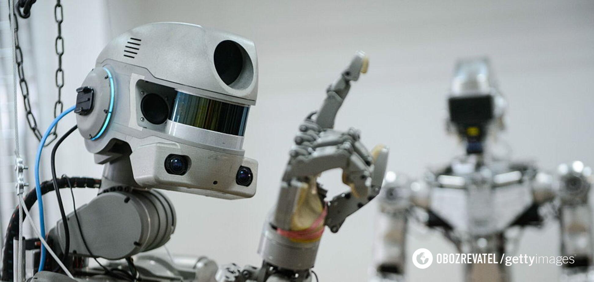 'Робот-дебіл!' У мережі висміяли черговий 'успіх' Росії на МКС