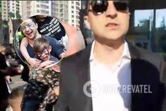 Зеленський відвів сина в школу і влаштував скандал: відео