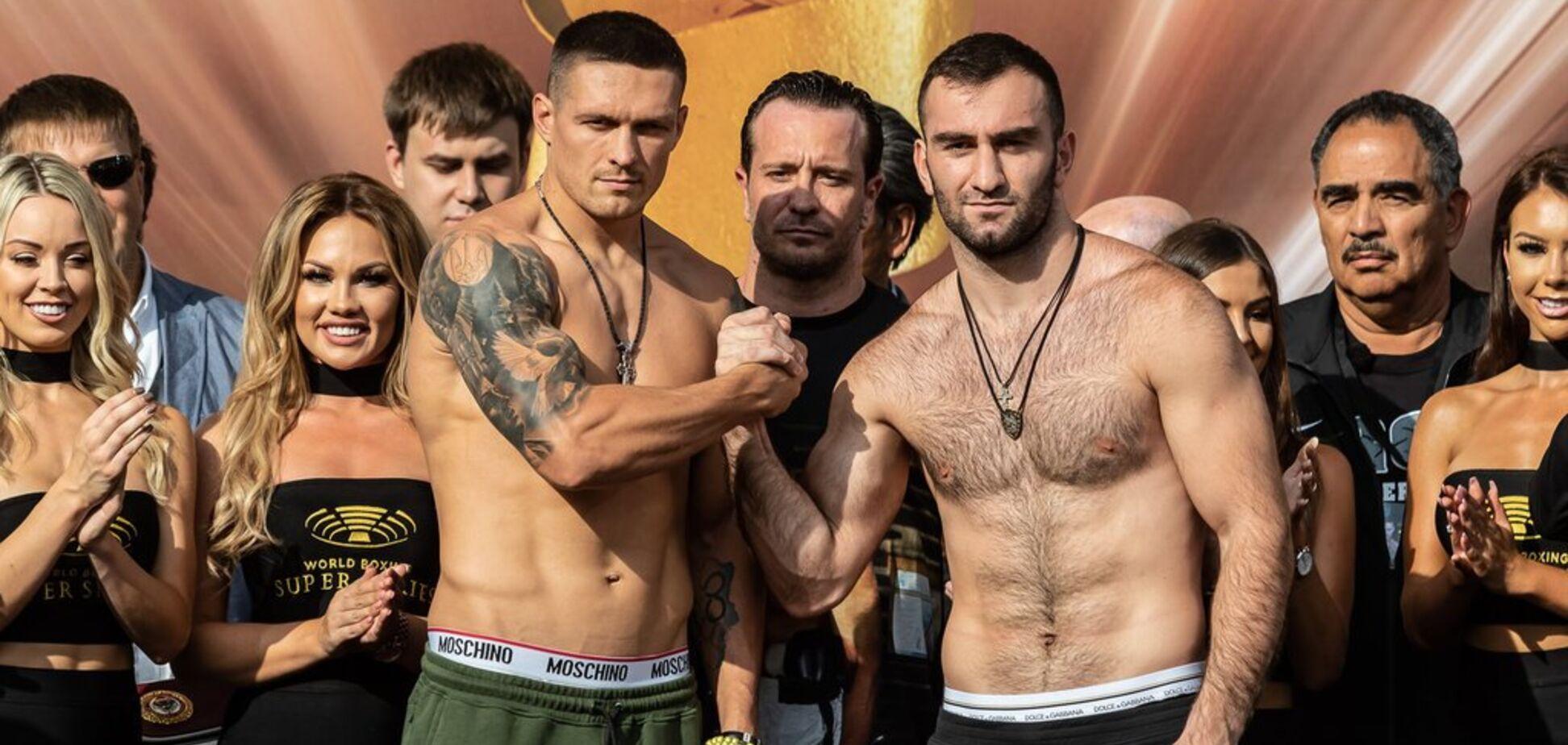 Официально: Гассиев примет участие в дебюте Усика в супертяжах