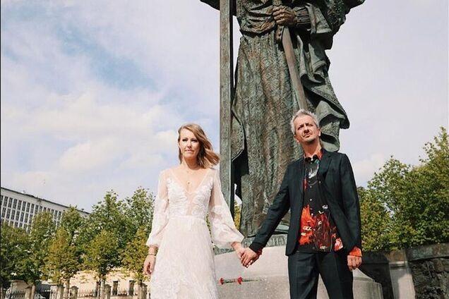 Ксенія Собчак і Костянтин Богомолов - весілля