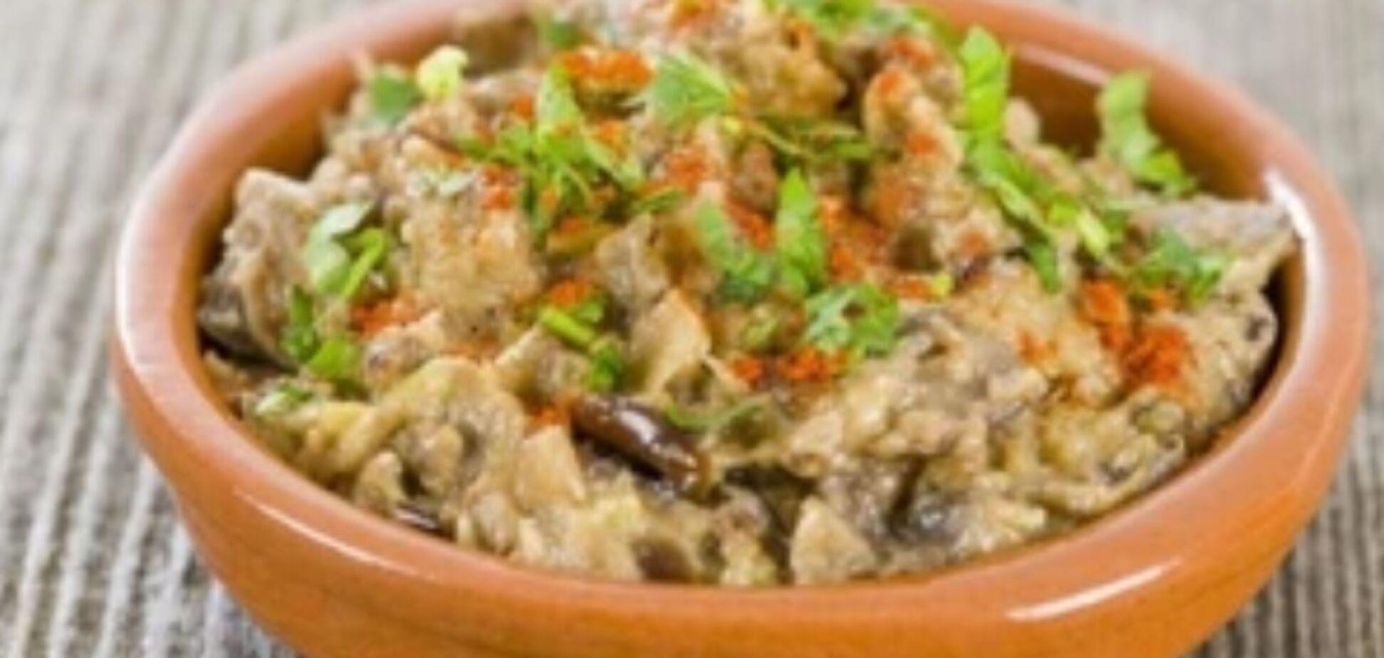 Рецепт вкуснейшего грузинского блюда из баклажанов