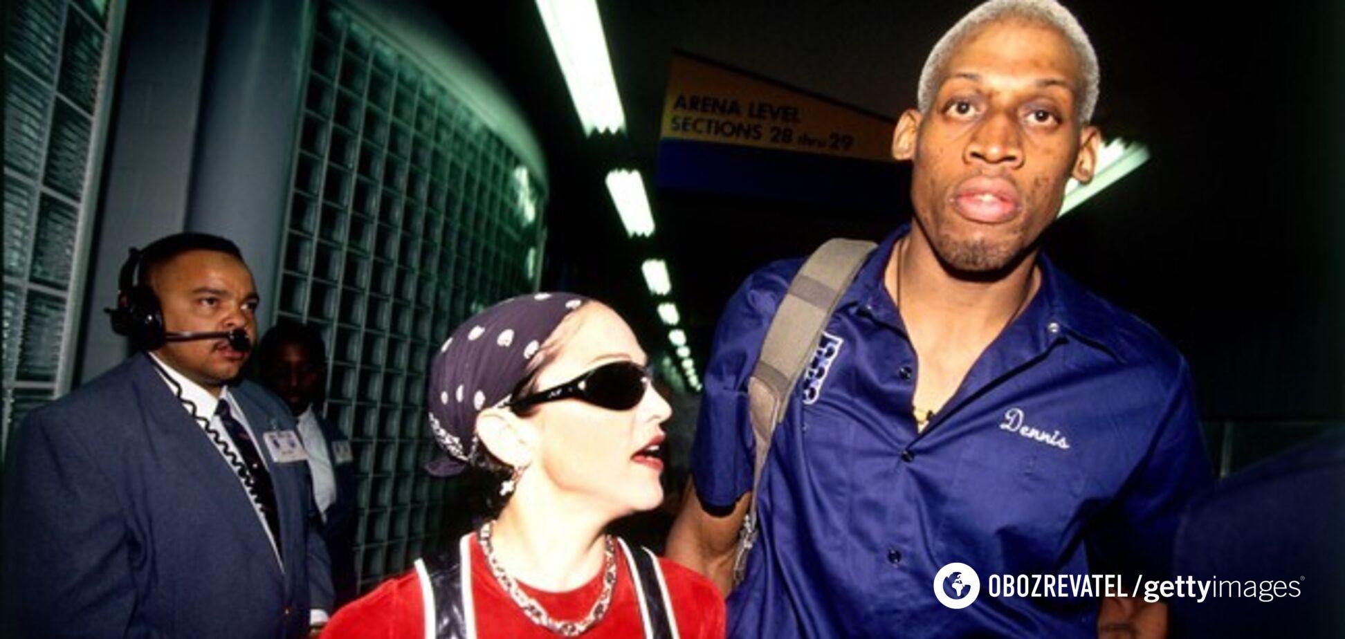 Секс за $20 млн: легенда НБА раскрыл подробности романа с Мадонной