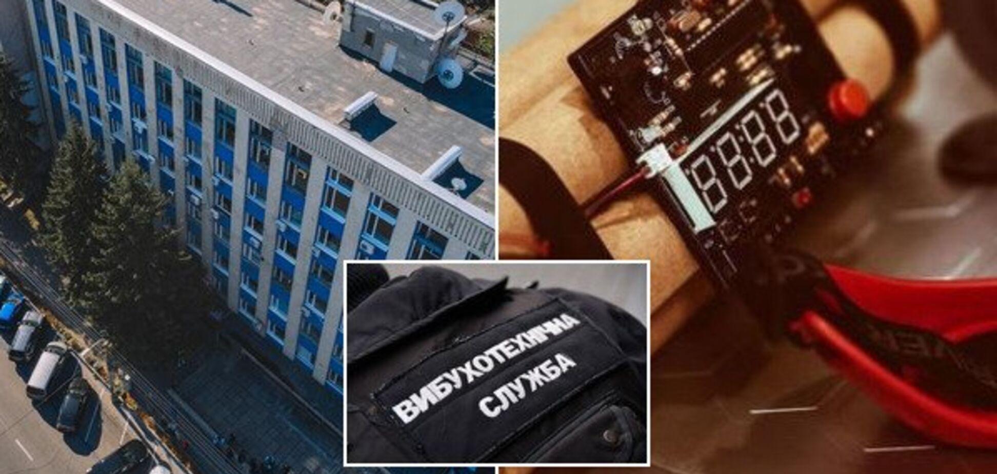 В Днепре сообщили о минировании офиса в центре города