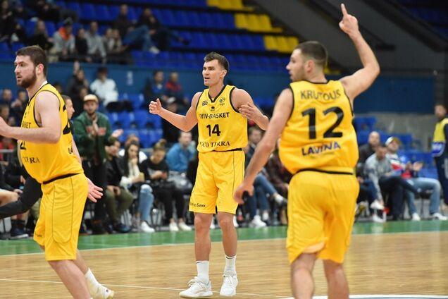 Киев-Баскет — Бургос: видеотрансляция матча Лиги чемпионов