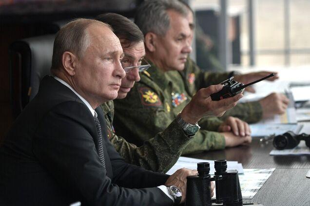 "Владимир Путин на учениях ""Центр-2019"""