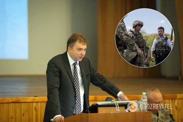Генштаб озвучил план по отводу войск на Донбассе