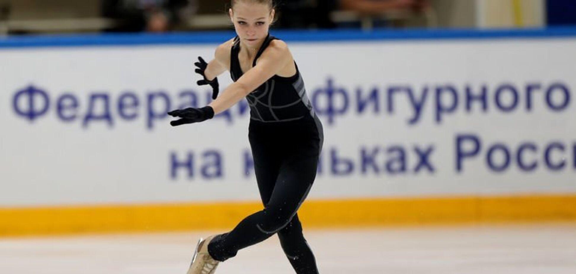 15-річна фігуристка встановила два світових рекорди