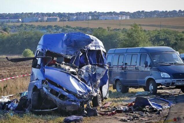 Фото з місця аварії під Одесою