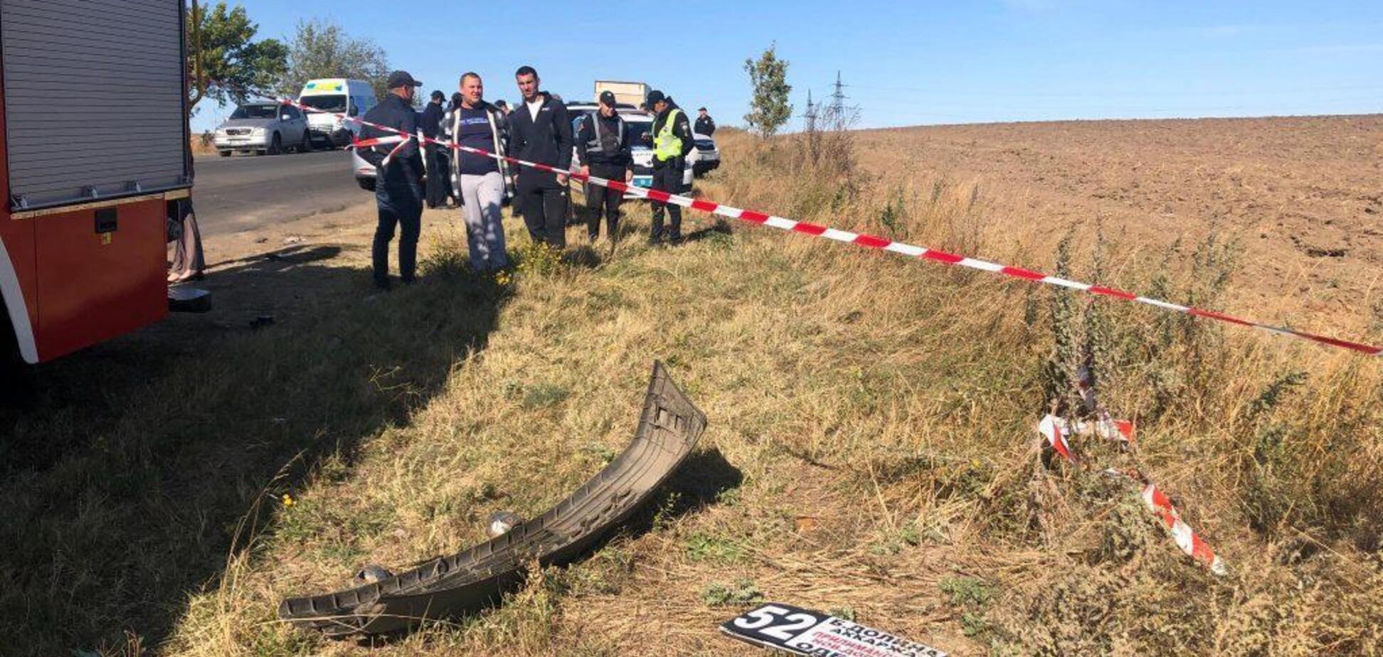 ДТП під Одесою: з'явилися кадри з закривавленими тілами