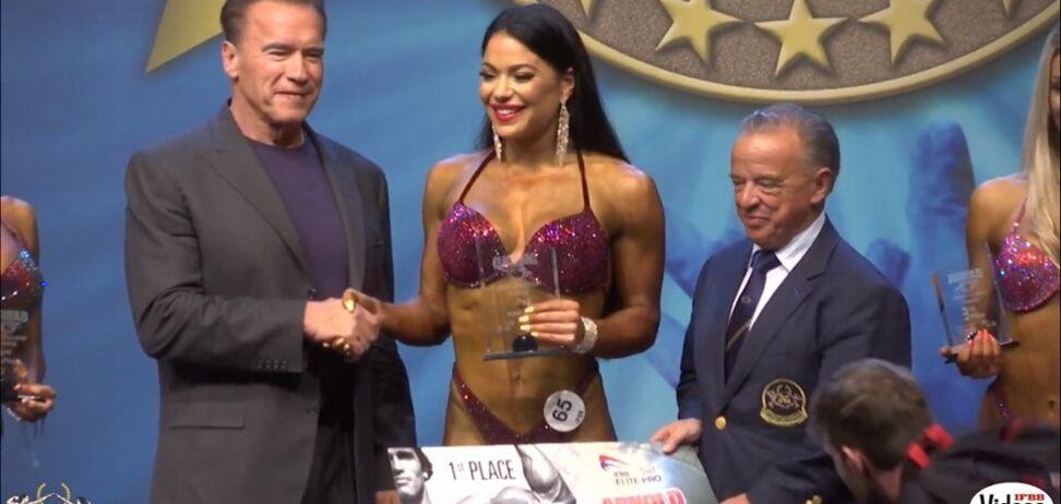 Украинка дважды за год выиграла самый престижный в мире фитнес-турнир
