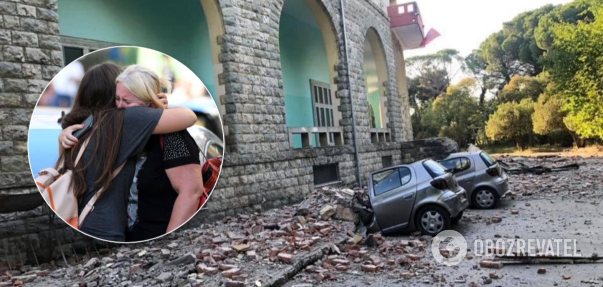 В Албанії стався потужний землетрус