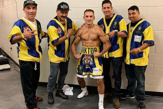 Непобедимый украинский боксер выиграл бой мощным нокаутом - опубликовано видео