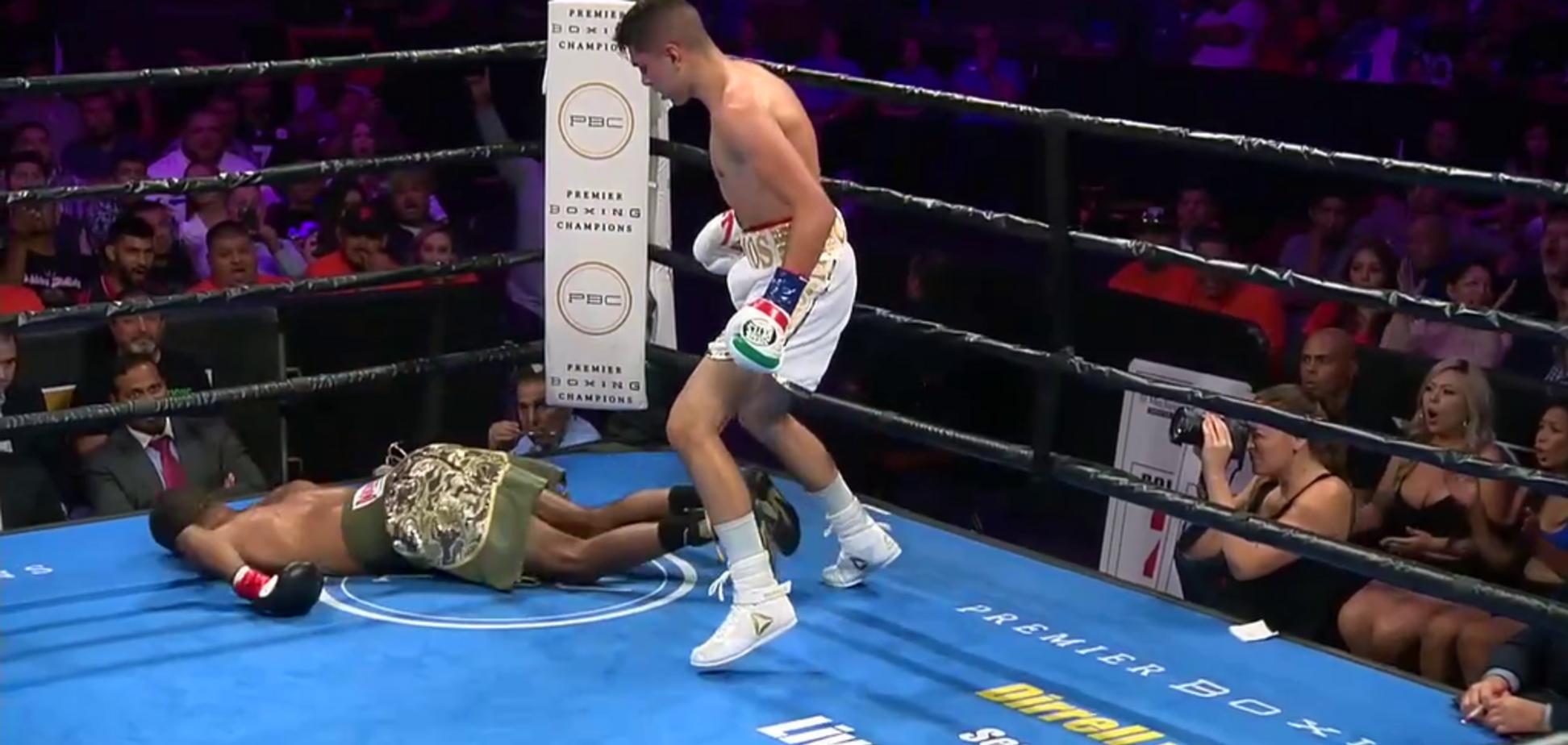 Боксер устроил понты в ринге и был жестко нокаутирован — опубликовано видео