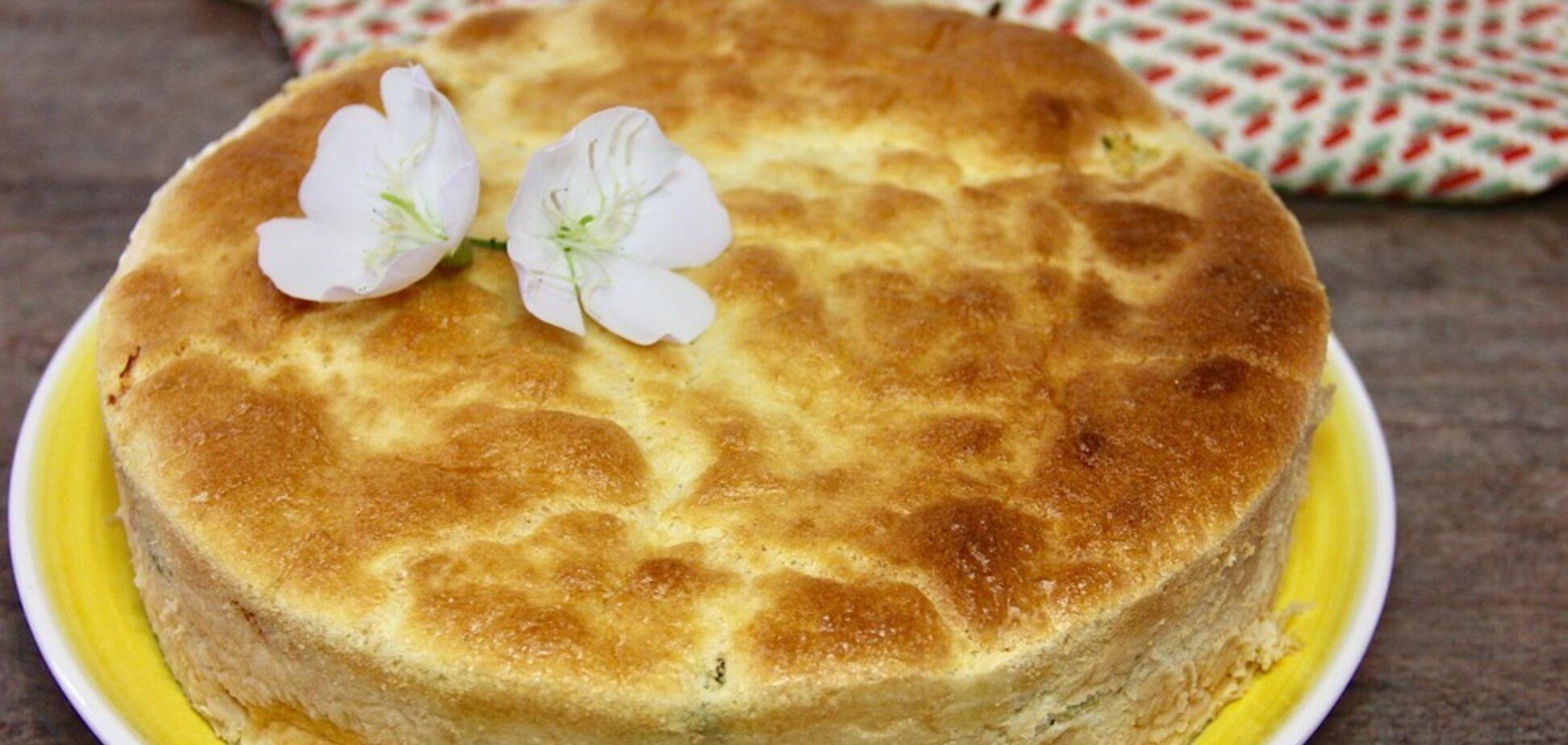 Рецепт вкуснейшего воздушного пирога с капустой