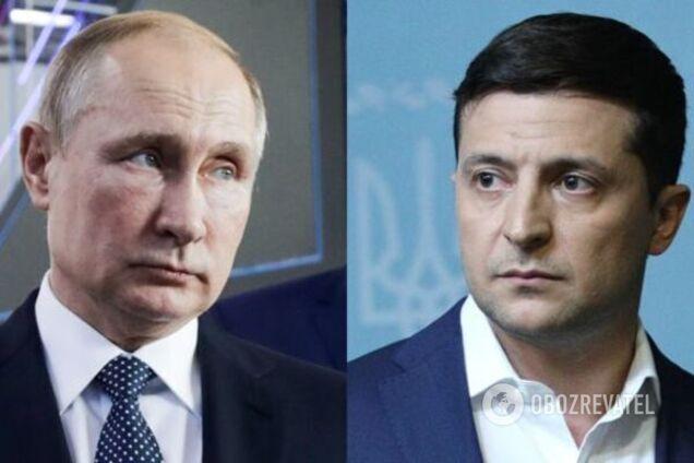 Від Зеленського зажадали надати стенограму переговорів з Путіним