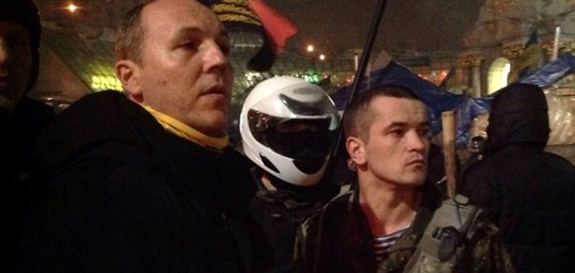 Парубий на Майдане